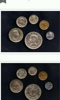 PHILIPPINE SERIES COINS SET