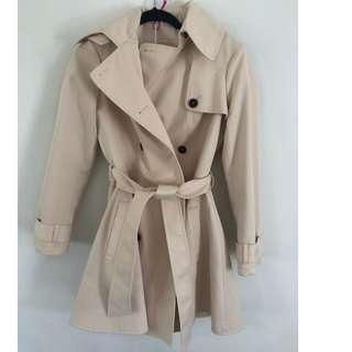 BNWT Cream Coat