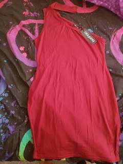 Micha Choker Bodycon Mini Dress