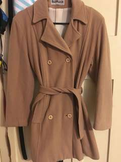 brown/tan coat