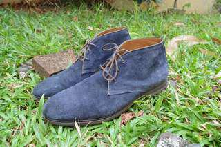 Sacoor Brothers Suede Chukka Boots