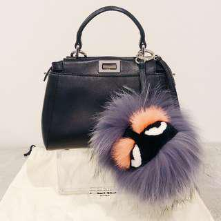 Cute Fendi Monster Bag Bug Charm Keyring