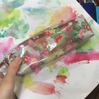 Cath Kidston clear pencil case
