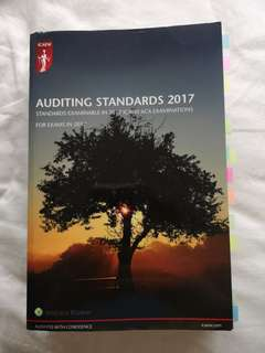 ICAEW Auditing Standards 2017