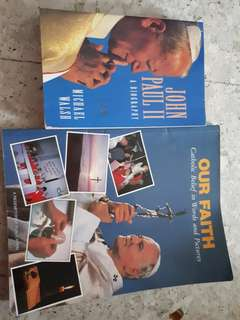 Giving away books about the pope #blessing