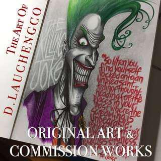 🎨ORIGINAL ART & COMMISSION WORKS