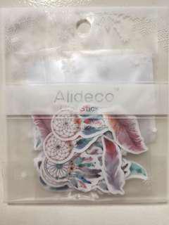 Dream catcher flake stickers