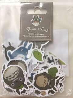 Totoro flake stickers