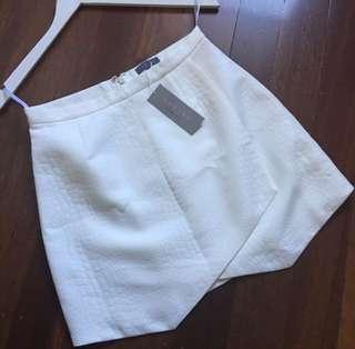 Sheike white skirt