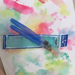Holbein watercolor brush