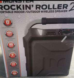 Monster Rockin Roller 2 powerful portable speaker
