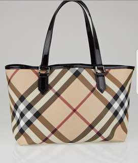 Burberry Tote Bag (open to swap)