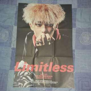 NCT Mark Poster from Limitless Album