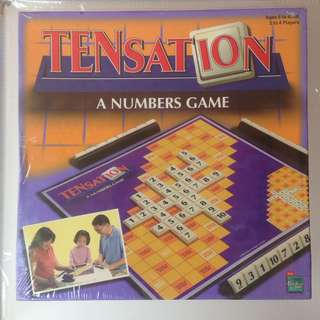 Tensation - A Number Game - Hasbro