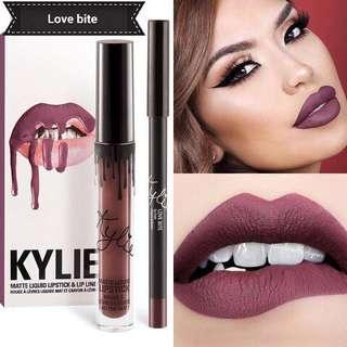 🚚 Kylie Cosmetics Lip Kit | Love Bite