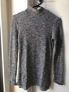 Gray Knit