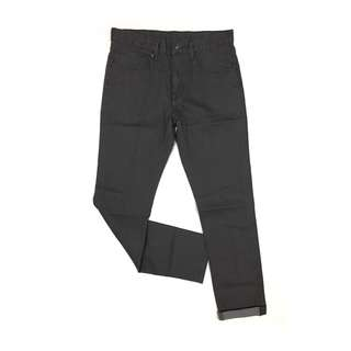 Gu Jeans by Uniqlo Skinny Fit Tapered in Grey