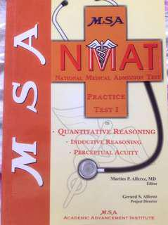 MSA NMAT REVIEWER in Quantitative, Inductive and Perceptual Acuity