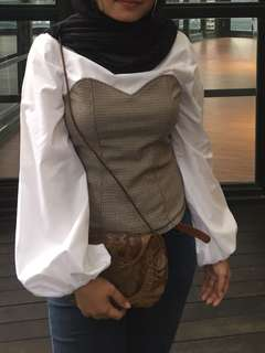 H & M Balloon Sleeve Blouse