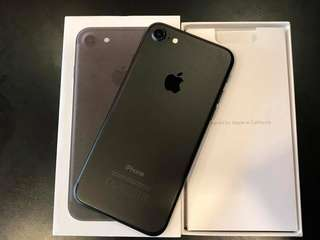 FORSALE IPHONE 7 32GB COMPLETE PCKAGE NO ISSUES FACTORY UNLOCKED