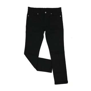 Gu Jeans by Uniqlo Skinny Fit Tapered in Black