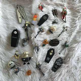 Lot of Jack Skellington Keychain and Collectibles