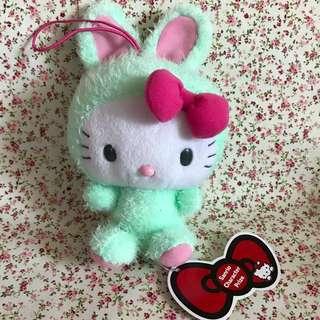 Hello Kitty X Rabbit 毛公仔 / 掛飾 兔仔