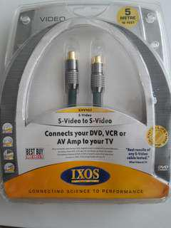 IXOS S-VIDEO 5 METRES Cable