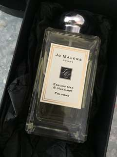 Jo Malone English oak &Hazelnut cologne 100ml