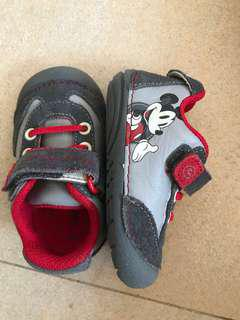 Baby Shoes - Mickey Disney with box