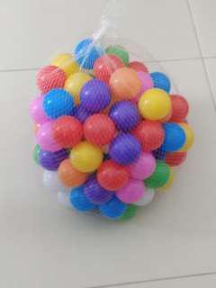 Baby soft balls (new 100pcs)