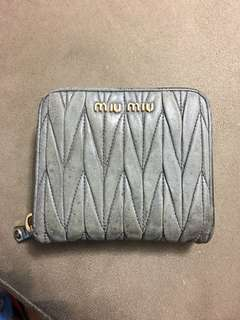 Miu miu wallet 100% real