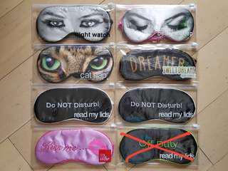 眼罩 Eye mask