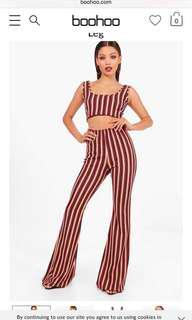 Boohoo Flare Pants (top not included