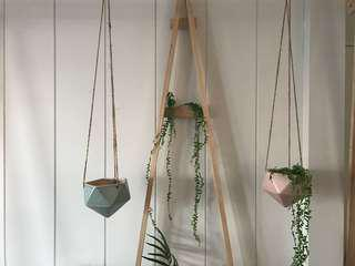 Rope Hanging Gem Pot