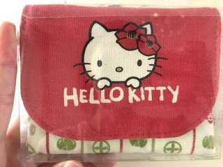 Hello Kitty Tissue and Card Pouch