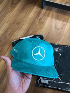 Mercedes Benz Official Louis Hamilton Cap