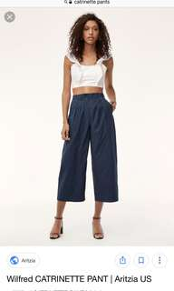 ISO: Aritzia Wilfred Catrinette Pants Sz 00 or 0