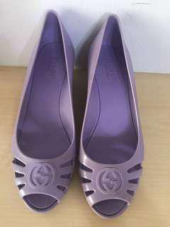 Authentic Gucci Jelly Heels