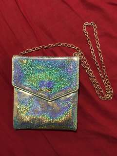 🚚 Holographic Sling Clutch