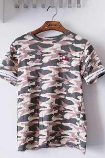 Summer 迷彩軍系T Shirt