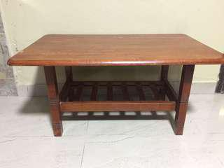 Solid Wood Living Room Table