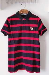 Summer Lamborghini 間條Polo Shirt