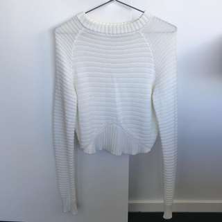 Tigermist crop knit