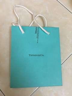 Tiffany & Co Paper Bag