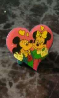 Disney Micky & Minnie Collar Pin