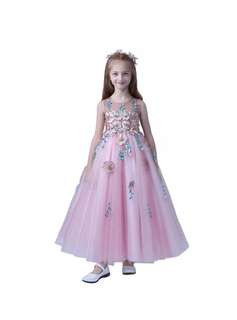 🚚 Pre-order Princess dress floral girl dress