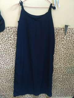 Sloopy Dress / Floppy Dress Biru Navy