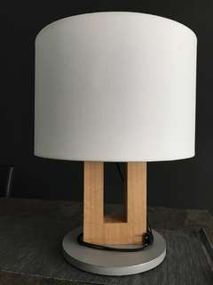 Cellini round wooden deco lamp shade lighting