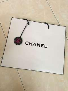 Chanel Paper Bag with Coco Game Centre tag
